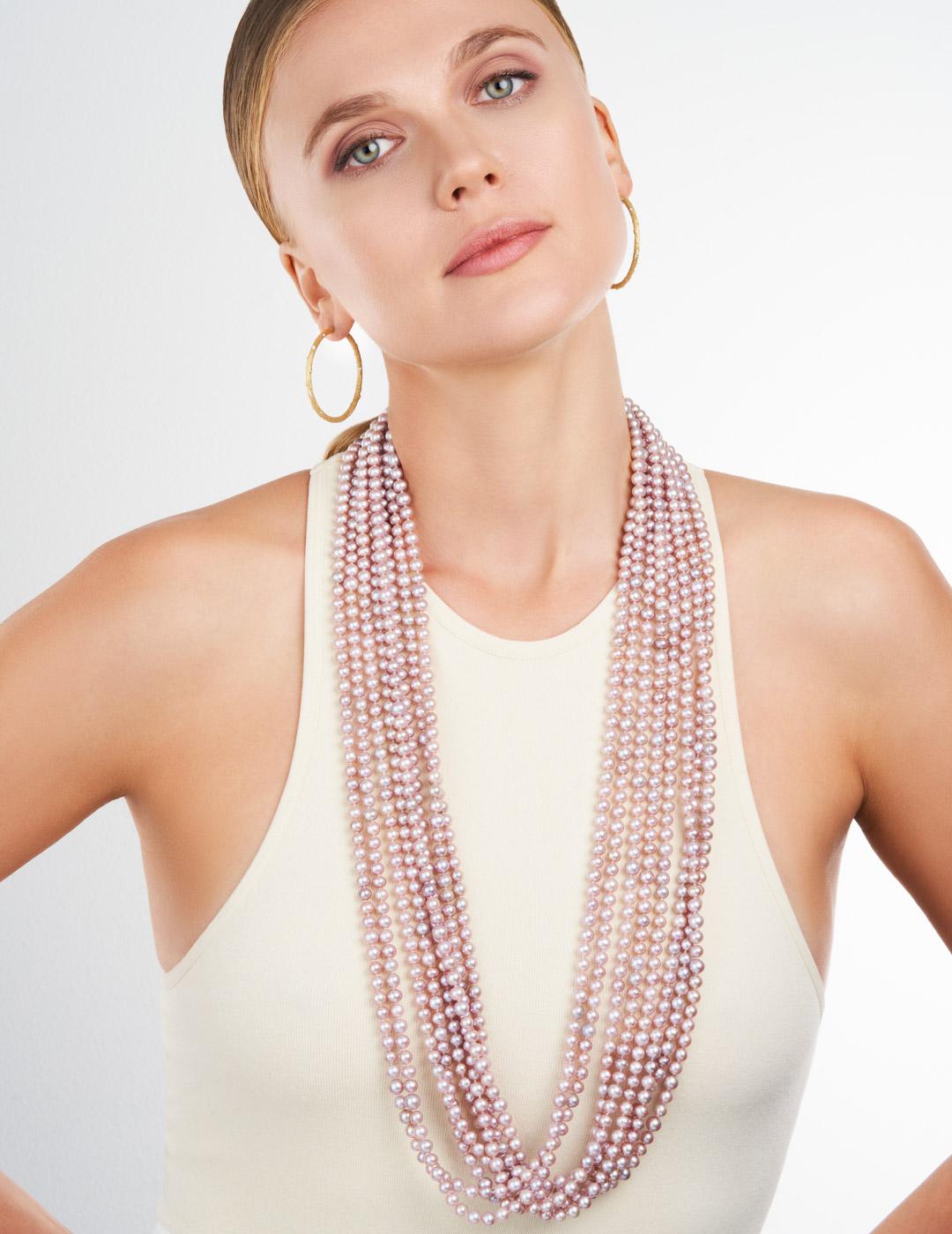 mish_necklaces_Pink Pearl-MultiStrnd-NK-2