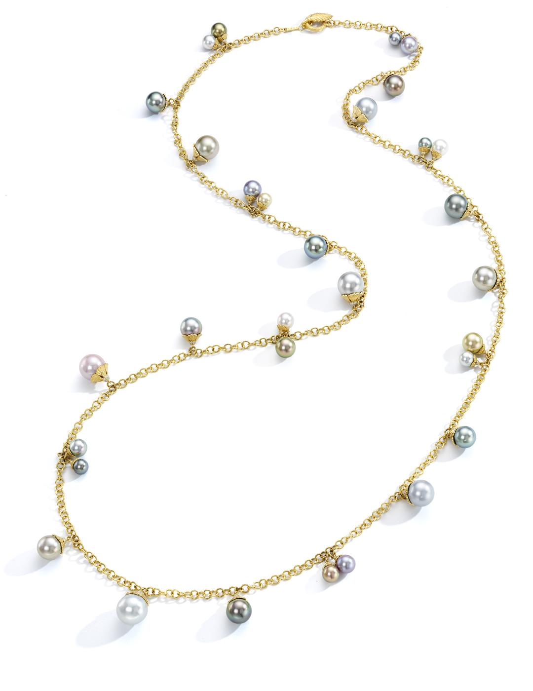 mish_necklaces_StrawbryFlwr-Pearl-Chrm-NK-1