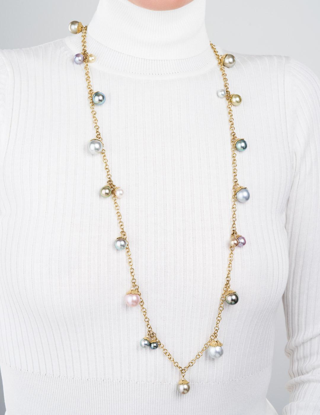 mish_necklaces_StrawbryFlwr-Pearl-Chrm-NK-2