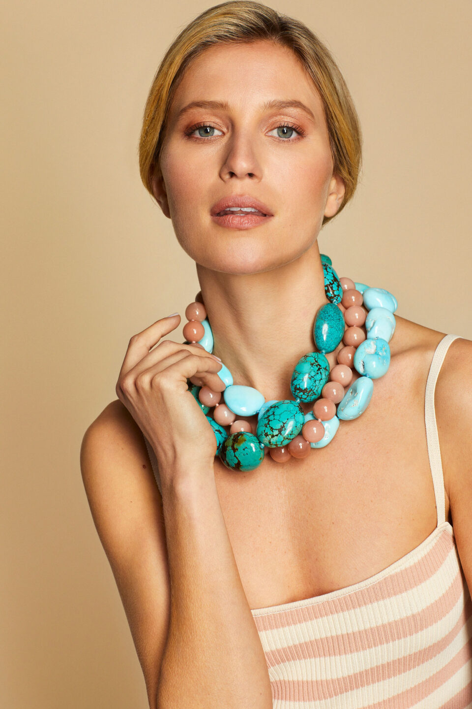 mish_necklaces_coral_bamboo_Turq-Antique-Nugt-NK-3