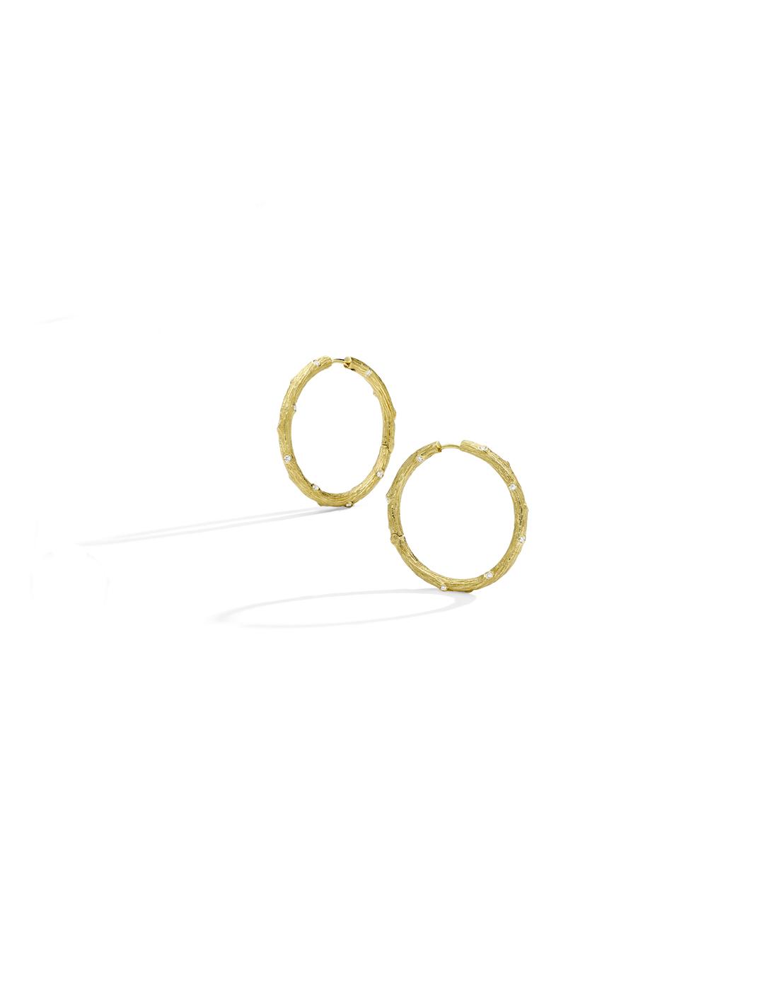 mish_products_earrings_Twig- Med Hoop YG-ER-1