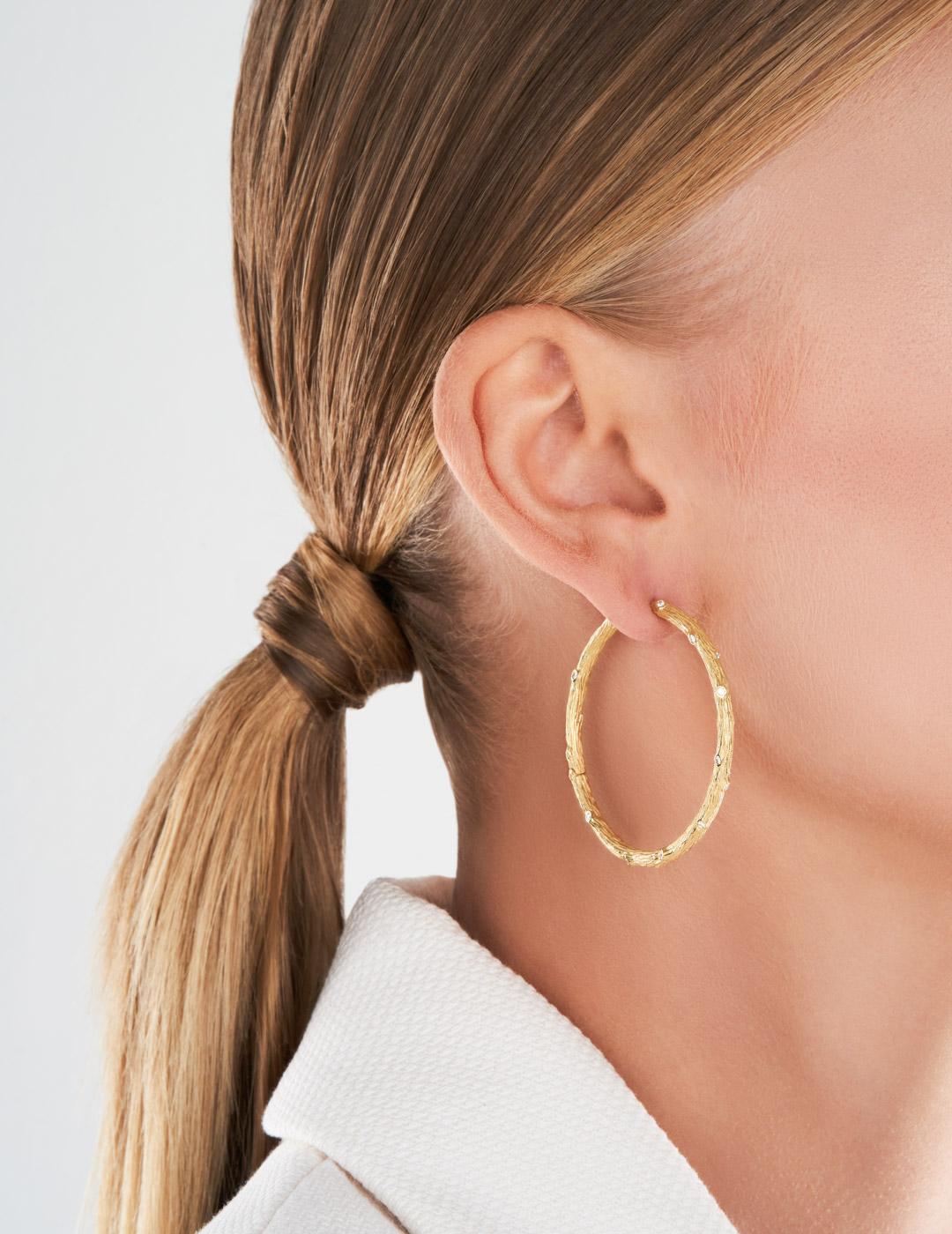 mish_products_earrings_Twig-XL Hoop YG-ER-2