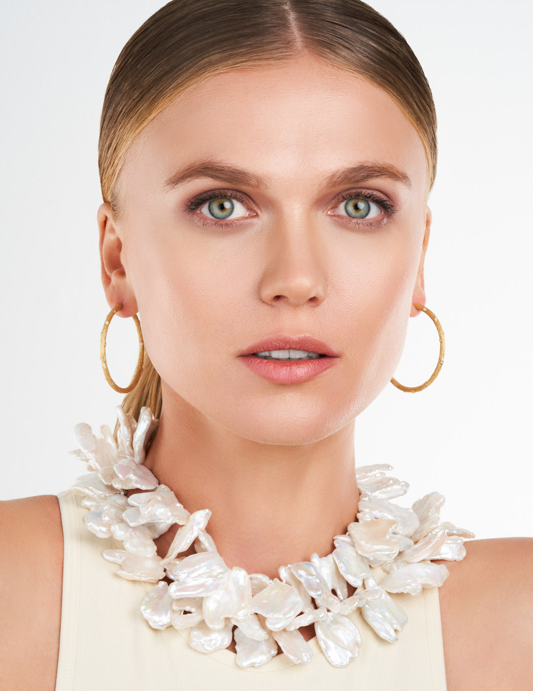 mish_products_earrings_Twig-XL Hoop YG-ER-3