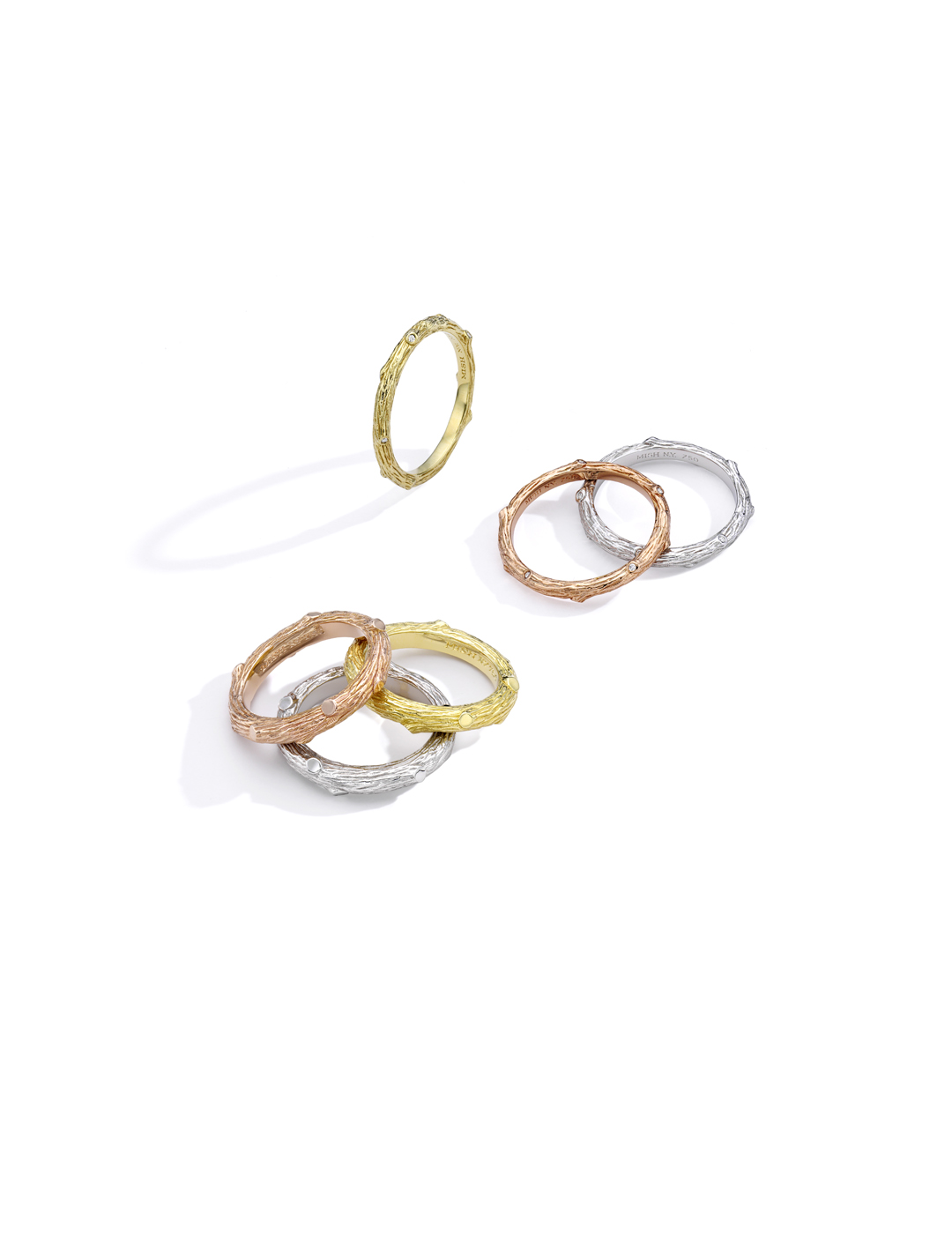 mish_products_rings_twig_wood_nymph_Set of Six Rings