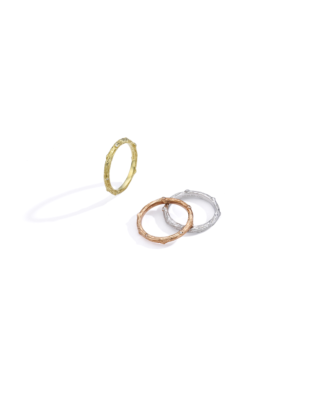mish_products_rings_twig_wood_nymph_Trio Narrow Rings